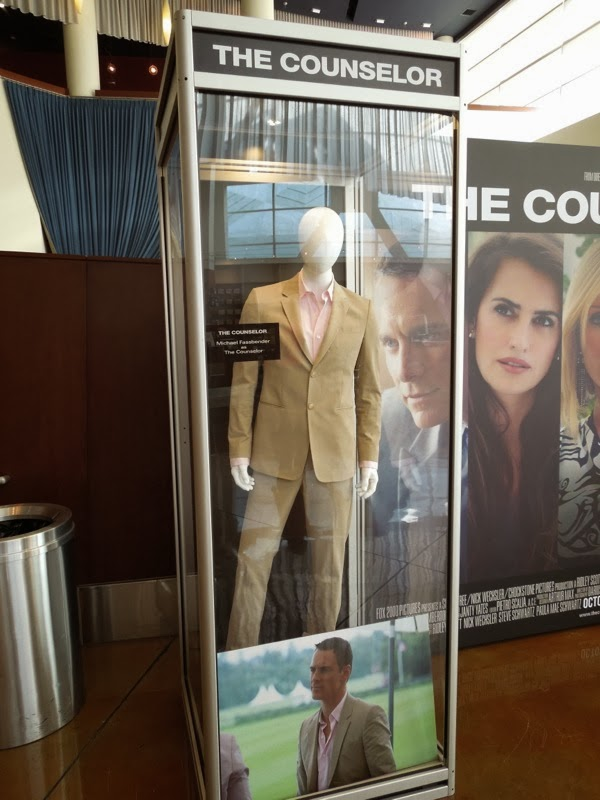 Michael Fassbender The Counselor movie costume