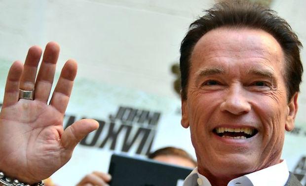 Arnold Schwarzenegger -- Alleged Sex Photo Already