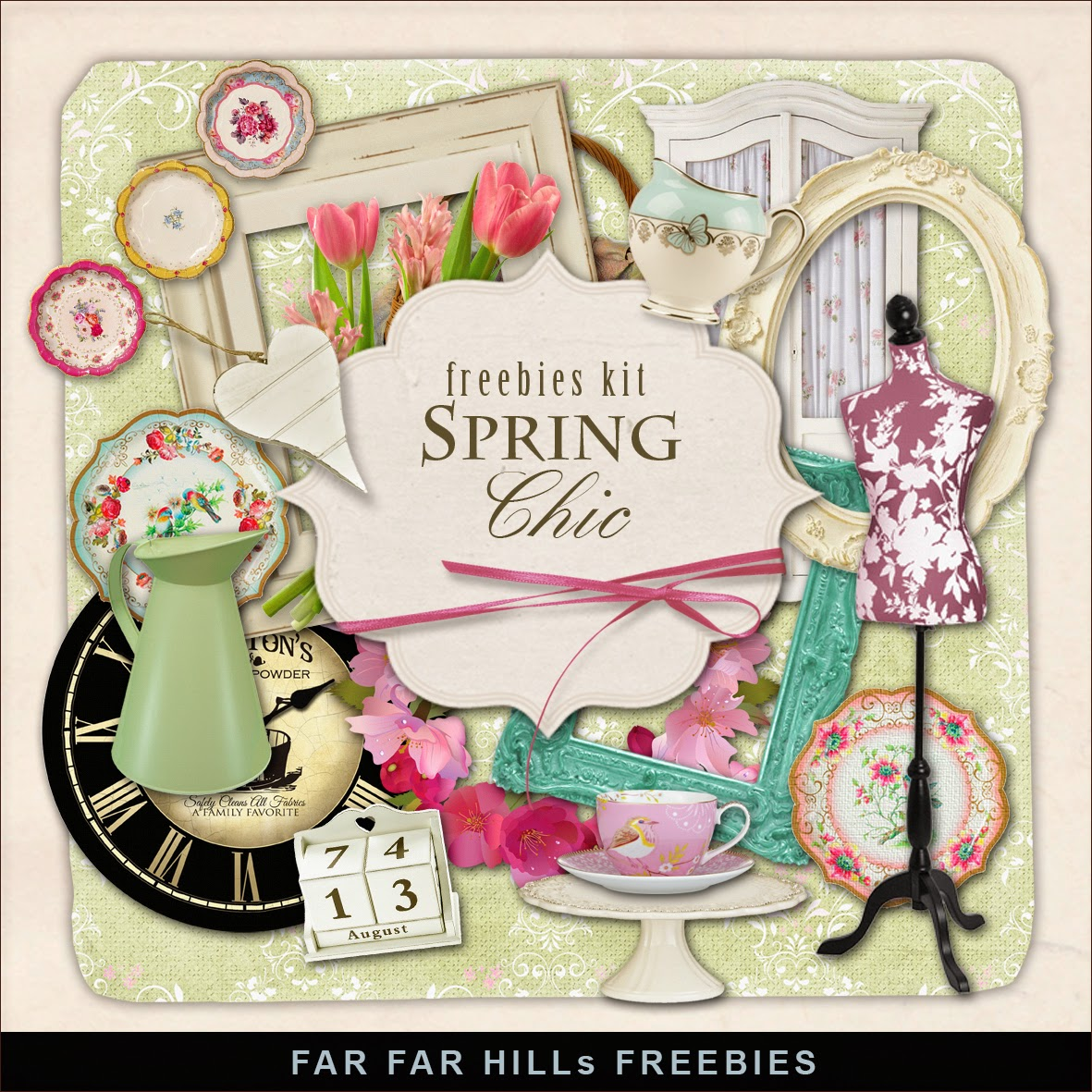 Freebies Kit - Spring Chic