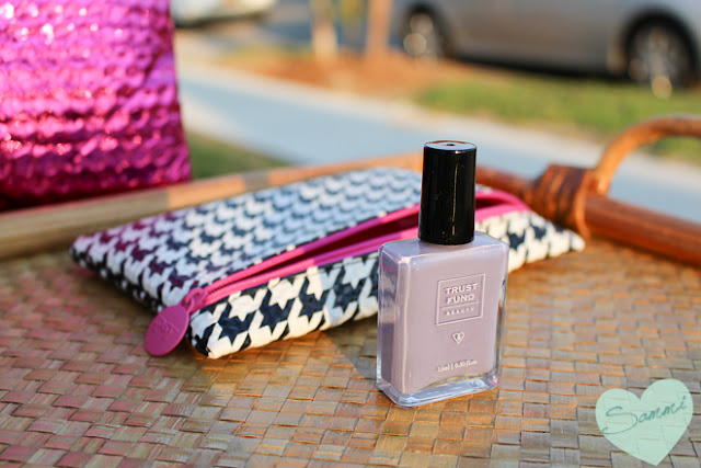 TRUST FUND BEAUTY | Nail Polish in Elegantly Wasted - Ipsy Glam Bag: August 2015 Review & Unboxing | Sammi the Beauty Buff