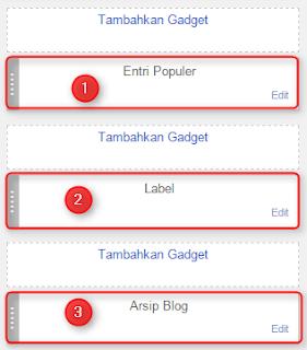 membuat tab widget sederhana di blogger