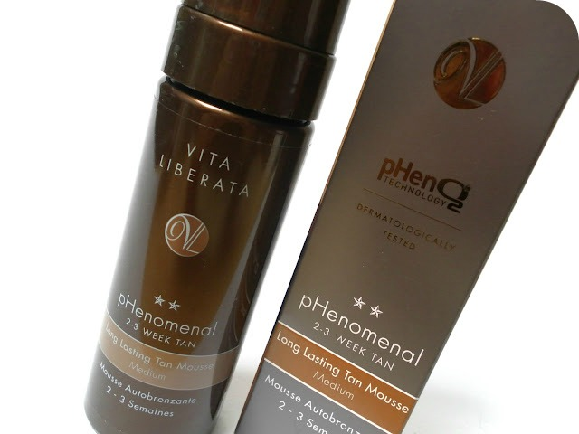 A picture of Vita Liberata pHenomenal 2-3 Week Tan Long Lasting Tan Mousse