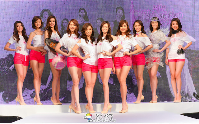 Miss Astro Chinese International Pageant 2013 Top 10 | Astro国际华裔小姐2013 10强佳丽
