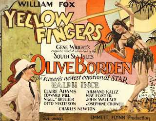 Olive Borden Yellow Fingers