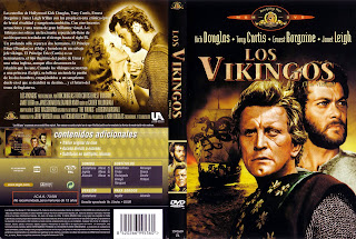 Carátula: Los vikingos (1958) The vikings