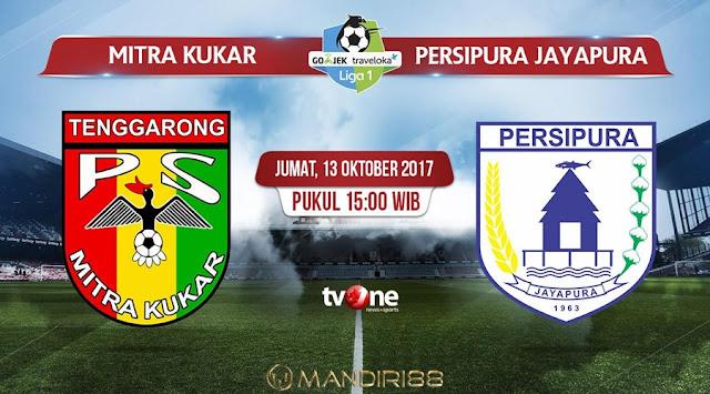 Prediksi Bola : Mitra Kukar Vs Persipura Jayapura , Jumat 13 Oktober 2017 Pukul 15.00 WIB @ TVONE