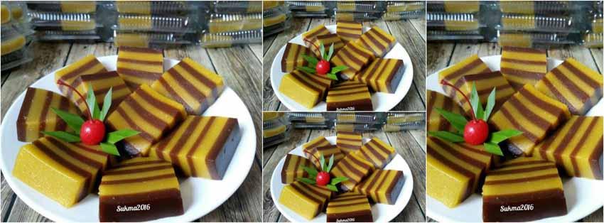 Resep Membuat Kue Lapis Sagu Labu Kuning by Sukmawati_Rs