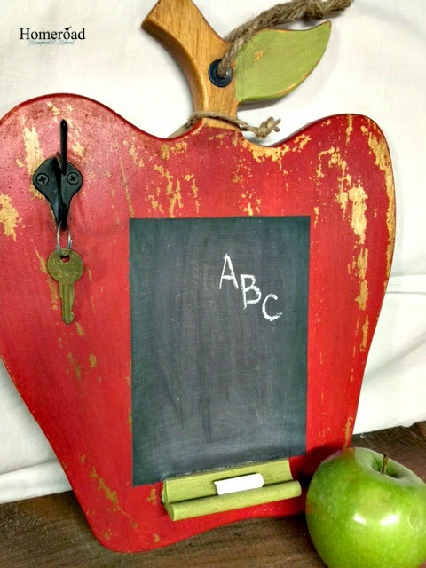 Apple Cutting Board Chalkboard
