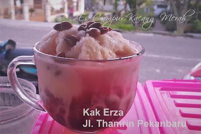 Es Campur Kacang Merah Es Gunung - Street Food