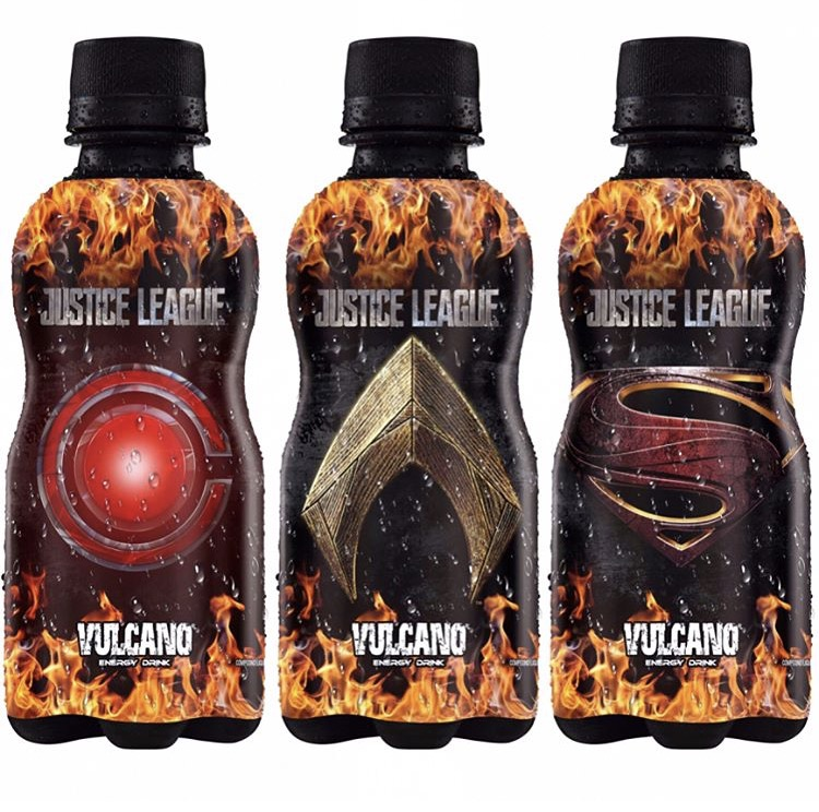 Justice League Vulcano Energy Drink