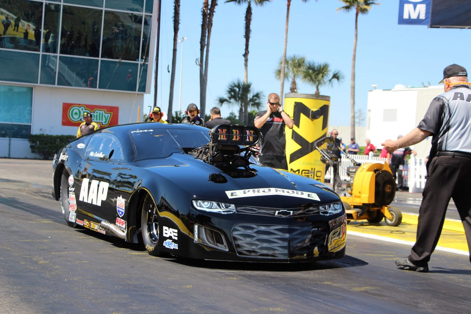 Mike Castellana At Nhra Gatornationals 2018