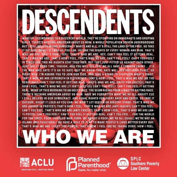 """Descendents stream new song """"Who We Are"""""""