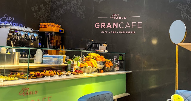 San Carlo Gran Cafe Selfridges Manchester