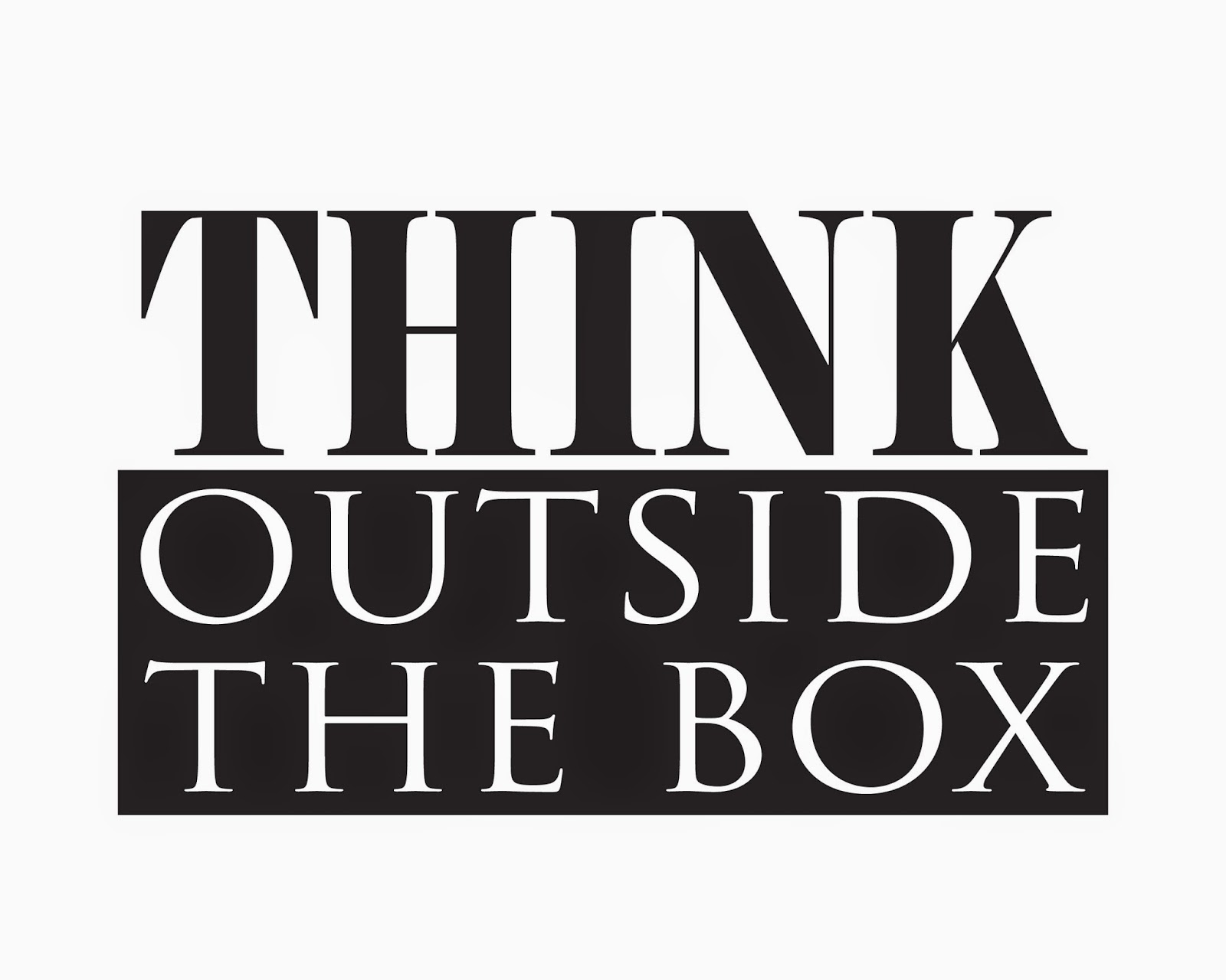 twocreativewomen how to think outside the box and free printable. Black Bedroom Furniture Sets. Home Design Ideas