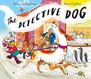 Books: The Detective Dog by Julia Donaldson (Age: 5+ years)