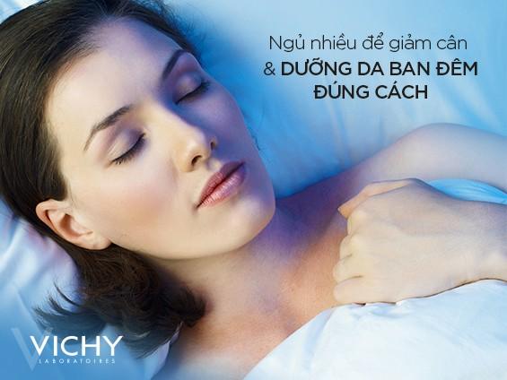 Ngủ nhiều để giảm cân hiệu quả và dưỡng da ban đêm đúng cách