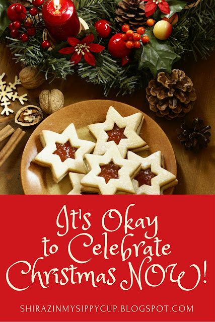 It's Okay to Celebrate Christmas Now!