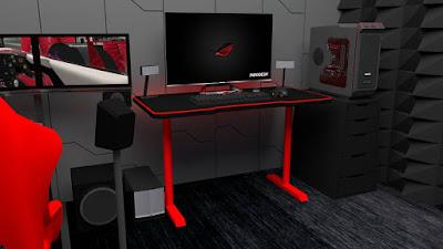 meja komputer gaming