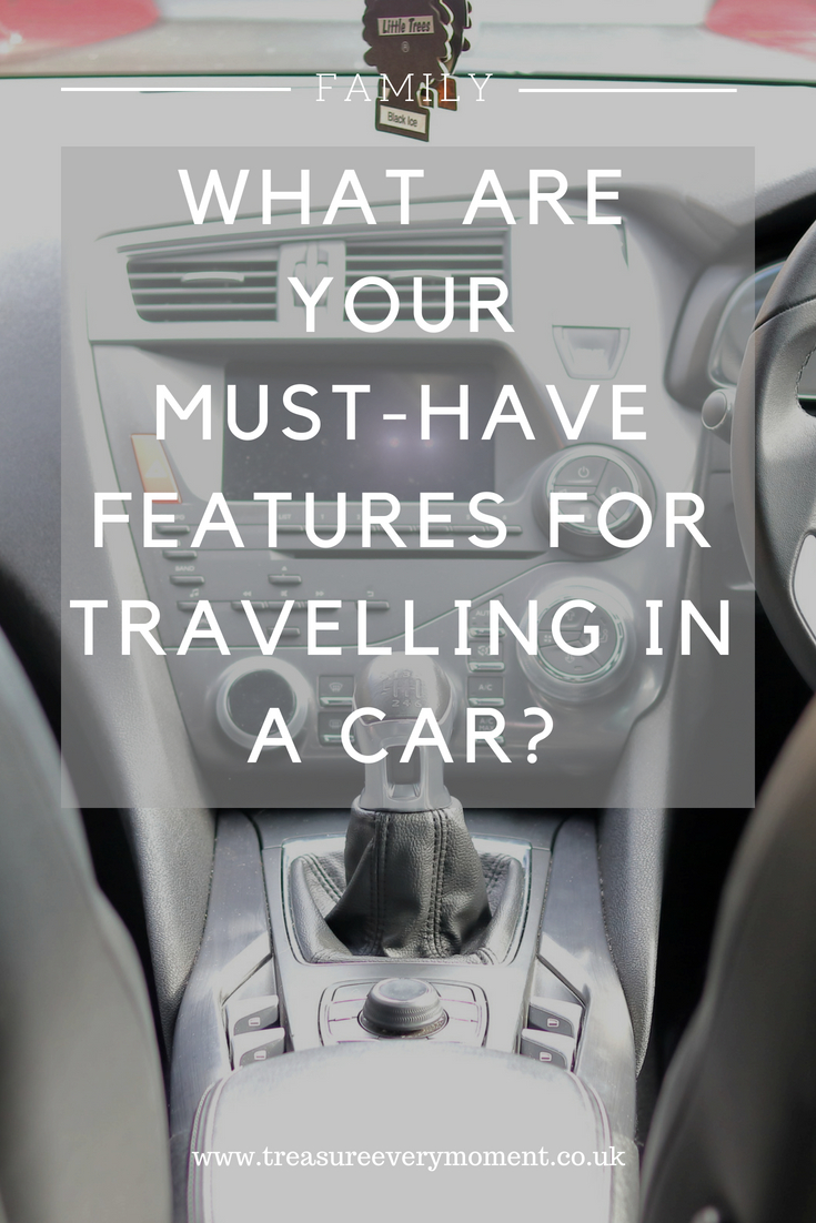 FAMILY: What are your must-have features for travelling in a car?