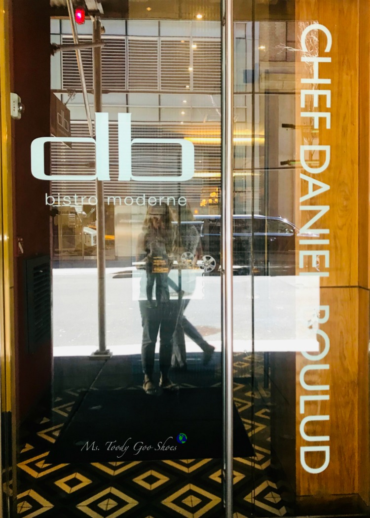 DB Bistro Moderne - One of  50 Places To Eat Near Tiimes Square - From Cheap To Chic! | Ms. Toody Goo Shoes