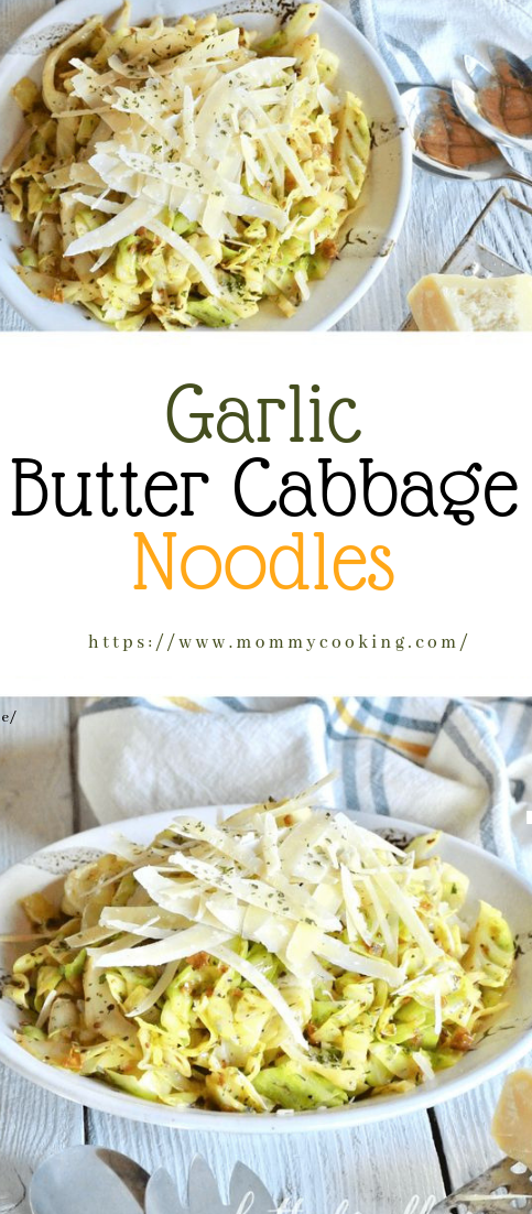 Garlic Butter Cabbage Noodles #recipehealthy #keto