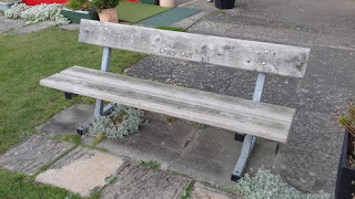 Bench at Prestatyn Crazy Golf