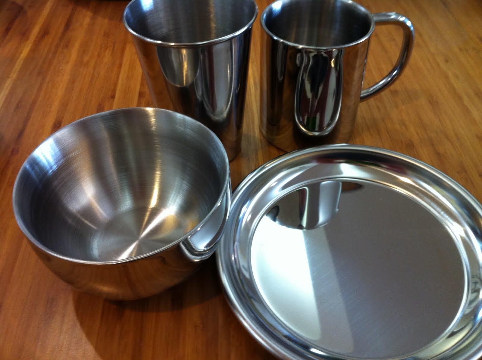 greendesign stainless steel dinnerware back in stock. Black Bedroom Furniture Sets. Home Design Ideas