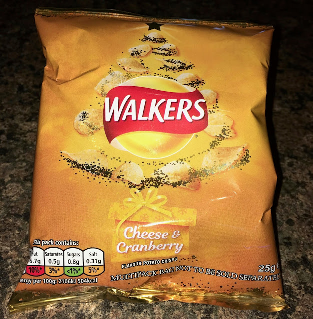 Walkers Cheese and Cranberry Crisps