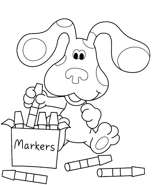 Nick Jr Coloring Pages