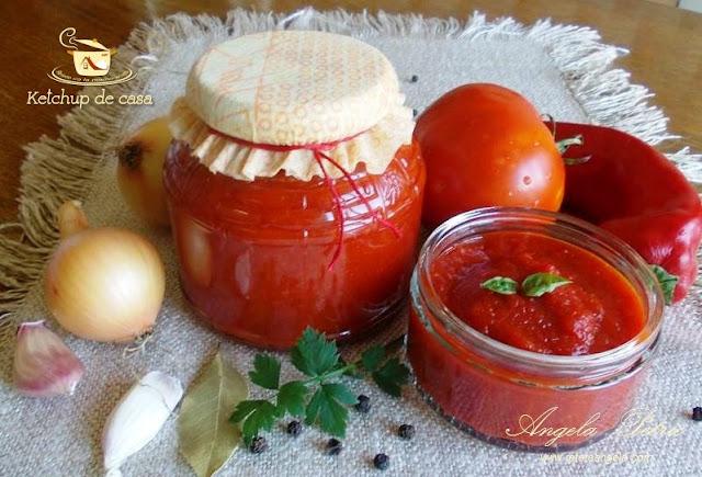 Ketchup, ketchup de casa