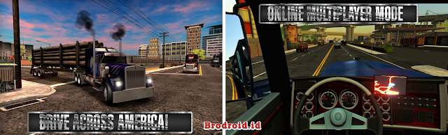 Download Truck Simulator USA Mod Apk Unlimited Money Terbaru