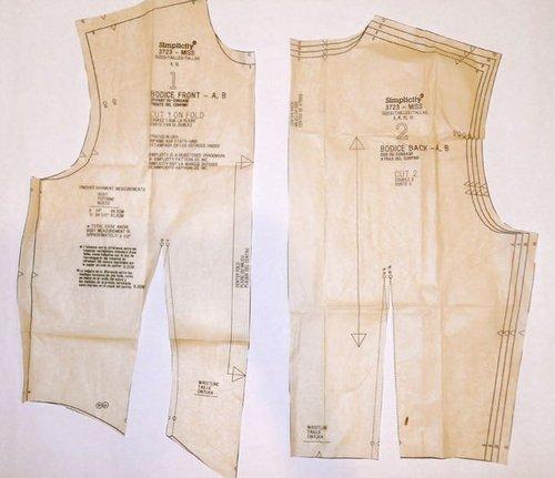 Garments pattern