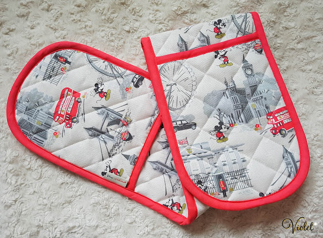 Cath Kidston Mickey Mouse oven gloves