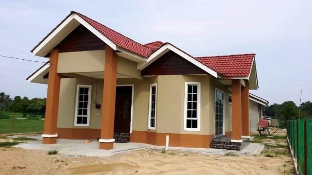 ツ 53+ model desain rumah minimalis sederhana di kampung ...