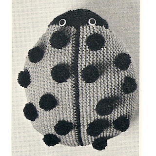 Ladybug Crocheted Bag Pattern