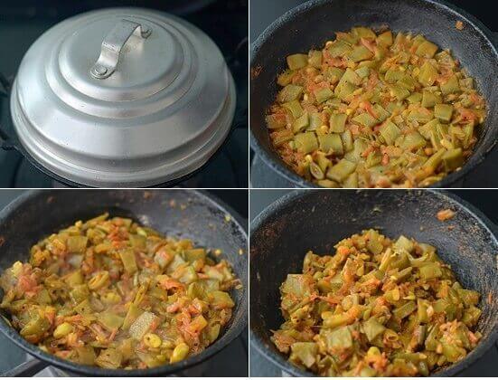 How To Cook Avarakkai Curry - 3