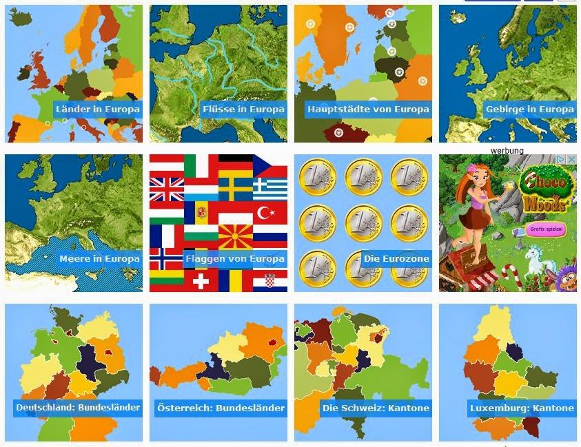 europa quiz länder