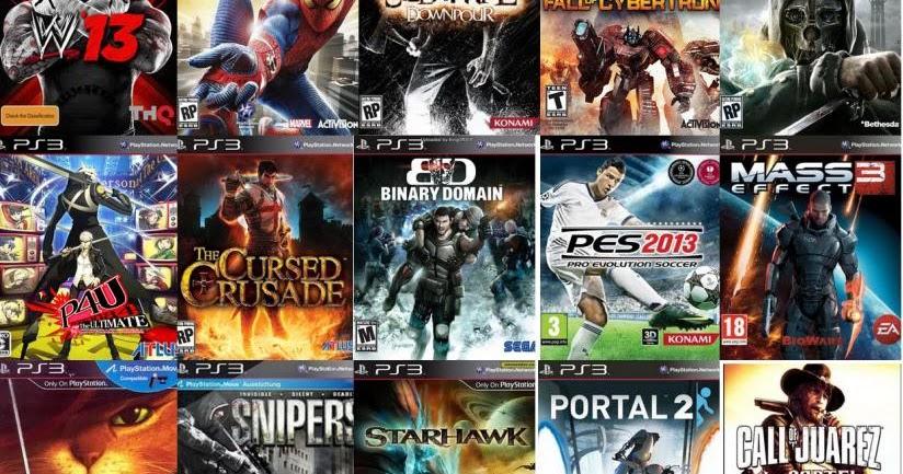 Kumpulan Website Tempat Download Game PS3 Terlengkap