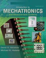 Introduction to Mechatronics and Measurement Systems - 4th edition - David Alciatore
