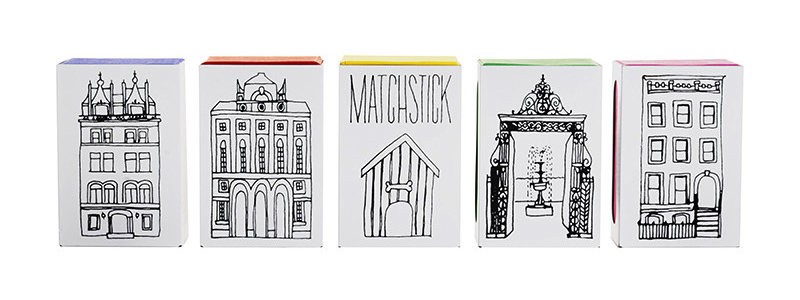 Matchstick Diamond Jewelry and packaging on if it's hip, it's here