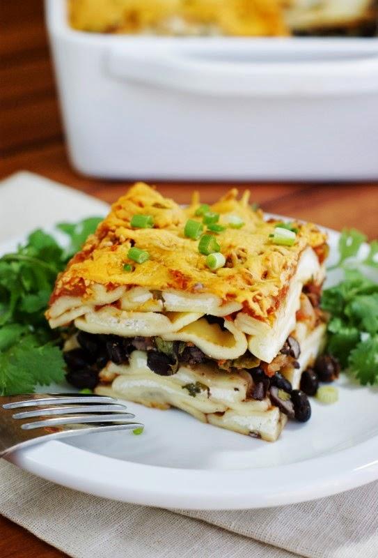 Easy Tex-Mex Ravioli Lasagna