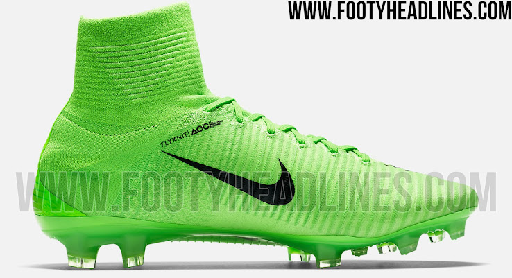 The stunning first 2017 paint job for the Nike Mercurial Superfly 5 is  almost entirely green 7d38d87c3