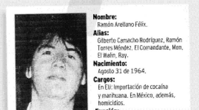 "EL PERFIL CRIMINAL DE RAMON ARELLANO FELIX ""EL COLORES"""