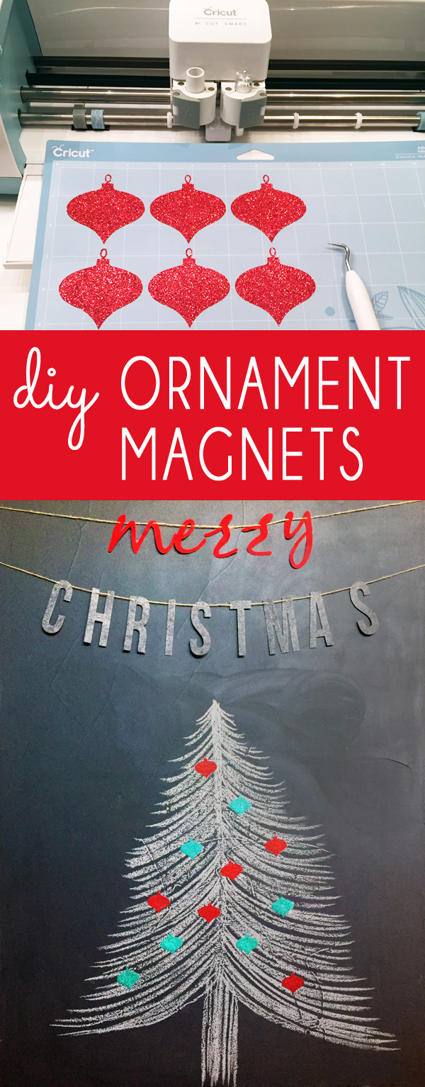 DIY Christmas Ornament Magnets