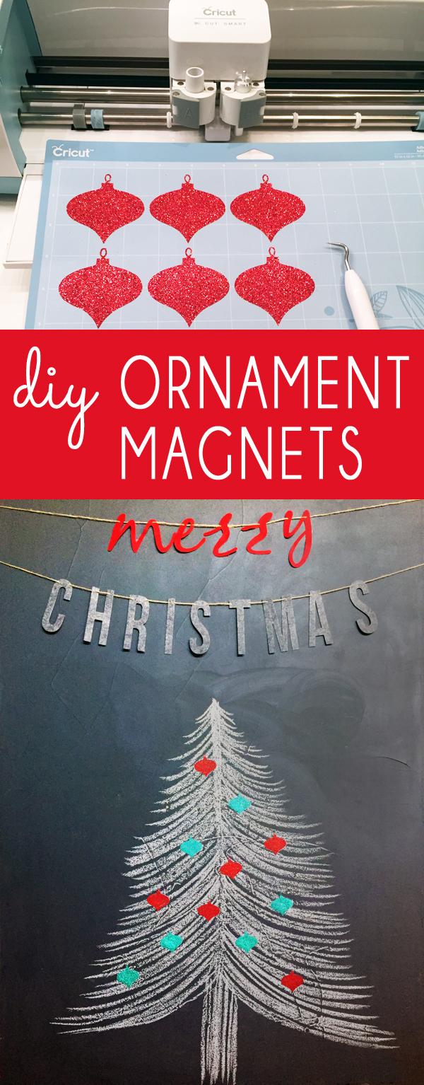 DIY Christmas Ornament Magnets