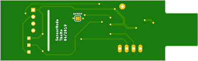 SensorNode pcb bottom side