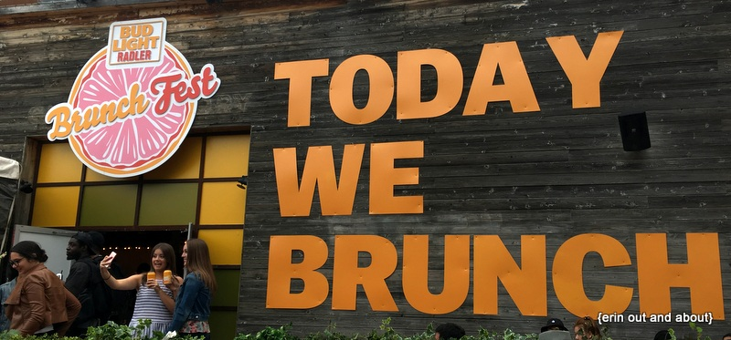 {ErinOutandAbout} Brunch Fest TO