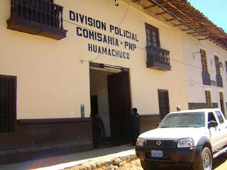 Policía es acusado de robo en Huamachuco