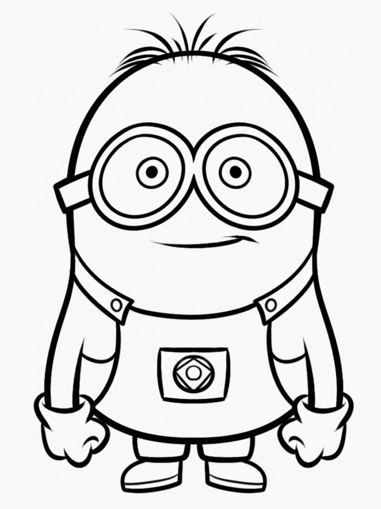 Downloads Despicable Me Coloring Pages