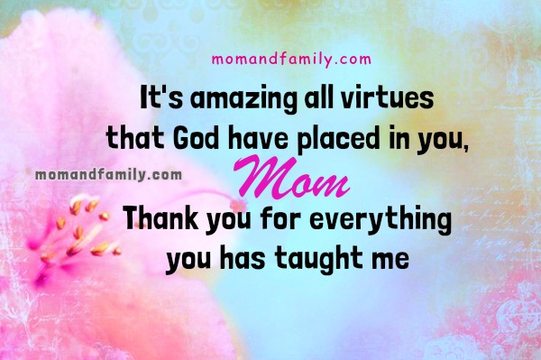 sample mom thank you letter